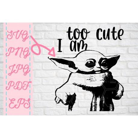 Baby Baby on board svg Baby Yoda SVG + PNG + EPS + jpg + pdf