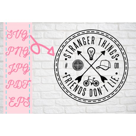 Stranger Things SVG Stranger Things inspired SVG + PNG + EPS + jpg + pdf